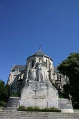 Eglise Saint-Martin - Dansk: Krigsmindemærke for faldne i verdenskrigene bag Église Saint-Martin de Pau, Frankrig. (Billedet har Geotag-informationer gemt i EXIF)