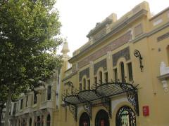 """Cinéma """"Castillet"""" - Català: Cinema Castillet (Perpinyà), entrada principal pel bulevard Wilson"""