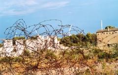 """Camp Joffre, dit """"Camp de Rivesaltes"""" - Català: Camp de Rivesaltes o Camp Joffre, situation entre Rivesaltes et Salses."""