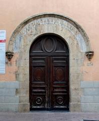 Eglise Saint-Mathieu - English: Portal of