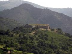 Fort Dugommier - Català: Fort de Dugommier, des del fort de Sant Elm (Cotlliure)