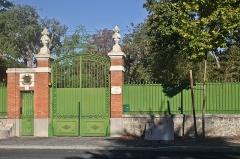 Villa Palauda - Français:   Entrée principale de la villa Palauda, Thuir, Pyrénées-Orientales