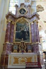 Ancienne église paroissiale du village disparu de Birsbach, dite Heidenkirche -