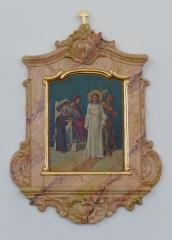 Eglise catholique Saint-Jean-Baptiste - Alsace, Bas-Rhin, Église Saint-Jean-Baptiste de Saessolsheim (PA67000005, IA67009190).  Chemin de croix.