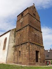 Eglise paroissiale Saints-Vincent-et-Anastase - This building is inscrit au titre des monuments historiques de la France. It is indexed in the base Mérimée, a database of architectural heritage maintained by the French Ministry of Culture,under the references PA67000006   and IA67007641 .