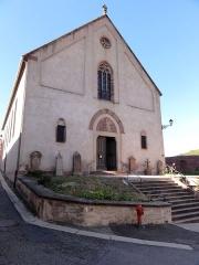Eglise catholique Saint-Maurice -  Alsace, Bas-Rhin, Soultz-les-Bains, Église Saint-Maurice (PA67000007, IA67006055).