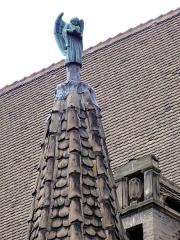 Eglise protestante Saint-Paul de Koenigshoffen - Français:   Alsace, Bas-Rhin, Église protestante Saint-Paul (1914) de Strasbourg-Koenigshoffen (PA67000018).