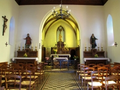 Chapelle Notre-Dame du Grasweg - Français:   Alsace, Bas-Rhin, Chapelle Notre-Dame-du-Grasweg de Huttenheim (PA67000055, IA00023590). Vue intérieure.