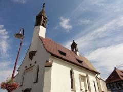 Chapelle Notre-Dame du Grasweg - Français:   Alsace, Bas-Rhin, Chapelle Notre-Dame-du-Grasweg de Huttenheim (PA67000055, IA00023590).
