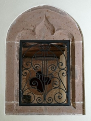Eglise catholique Saint-Nicolas - This object is indexed in the base Palissy, database of the French furniture patrimony of the French ministry of culture,under the referenceIM67012931.