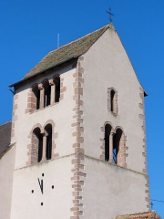Eglise catholique Saint-Nicolas -  Alsace, Bas-Rhin, Neuve-Église, Église Saint-Nicolas (PA67000057, IA67009451).