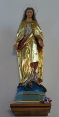 Eglise catholique Saint-Etienne -  Alsace, Bas-Rhin, Seltz, Église Saint-Étienne (PA67000069, IA67007467): Statue de la Vierge