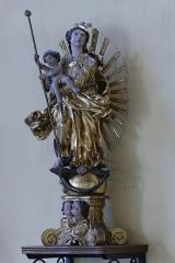 Eglise catholique Saint-Michel - Alsace, Haut-Rhin, Église Saint-Michel de Herrlisheim-près-Colmar (PA68000033, IA68003596). Statue