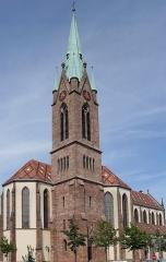 Eglise catholique Saint-Etienne - Français:   L\'église Saint-Étienne à Cernay