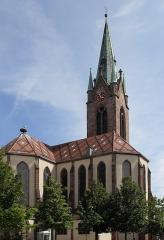 Eglise catholique Saint-Etienne - Français:   L\'église Saint-Étienne á Cernay