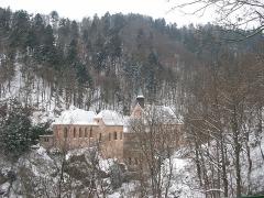 Sanctuaire Notre-Dame de Dusenbach - Français:   Notre-Dame de Dusenbach à Ribeauvillé (Haut-Rhin, France).