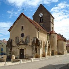 Eglise Saint-Martin de Purgerot - Français:   L\'église de Purgerot