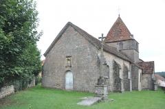 Eglise de la Nativité de Notre-Dame - Église de la Nativité-de-Notre-Dame de Chauvirey-le-Châtel (Inscrit)