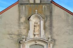 Château de Bussière - Vierge à l'Enfant, Église de la Nativité de la Vierge, Allerey-sur-Saône (Saône-et-Loire, Bourgogne, France)