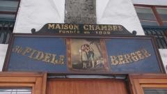 Pâtisserie le fidèle berger - Français:   Chambéry Pâtisserie Au fidèle Berger, fondée rue de Boigne en 1832. Enseigne