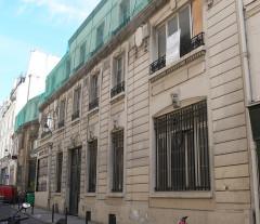 Ancien hôtel Rivié - Français:   Paris - hôtel Rivié