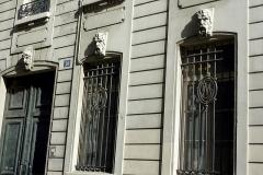 Ancien hôtel Rivié - Deutsch: Hôtel Rivié, 30, Rue du Sentier im 2. Arrondissement von Paris, Maskarons
