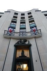 Ancien Ministère de la Marine Marchande -  CNIL @ Ministère de la Marine Marchande @ Paris 7