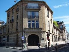 Lycée Jules Ferry - English: Entrée du lycée Jules-Ferry au 77, Boulevard de Clichy, Paris