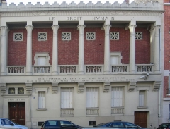Siège du Droit Humain International -  Siège de l'Ordre maçonnique mixte international «le Droit humain», 5 rue Jules Breton, Paris 13e