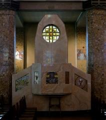 Eglise Saint-Jean-Bosco - Français:   Église Saint-Jean-Bosco (Inscrit) n° 77,79 rue Alexandre-Dumas - Paris XX