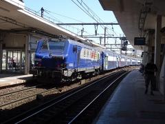 Gare des Chantiers - BB27300 partant de Versailles Chantiers