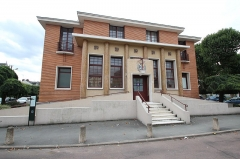 Hôtel des Postes - English: Post office of Rambouillet, France