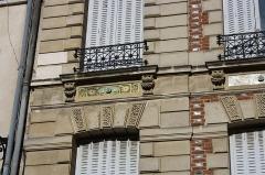 Immeuble - English: 16 Poissy street in Saint-Germain-en-Laye, France.