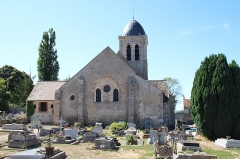 Eglise Saint-Martin - English: Saint-Martin church in Jouars-Pontchartrain, France