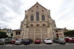 Eglise Saint-Lubin et Saint-Jean-Baptiste - English: Saint-Lubin-et-Saint-Jean-Baptiste church of Rambouillet, France