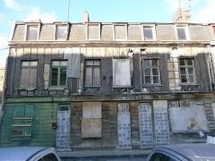 Maisons - Français:   Maisons anciennes du quartier Saint-Leu d\'Amiens.