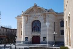 Théâtre municipal - This building is en partie classé, en partie inscrit au titre des monuments historiques de la France. It is indexed in the base Mérimée, a database of architectural heritage maintained by the French Ministry of Culture,under the reference PA81000010 .