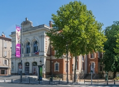 Théâtre - English: Municipal Theater of Albi, Tarn, France