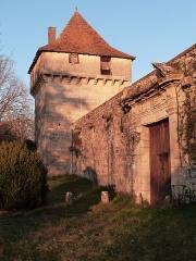 Château de Cornusson - Français:   Château de Cornusson (Inscrit)
