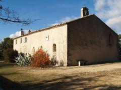 Eglise paroissiale Notre-Dame de Beauvoir -  ermitage saint pancrace face est Grambois
