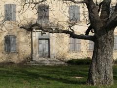 Château du Grand-Pré -  Chateau du grand pré entrée principale - Vitrolles en Luberon