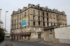 Ancienne usine Coignet - English: Lodging house of François Coignet's factory workers in Saint-Denis, France
