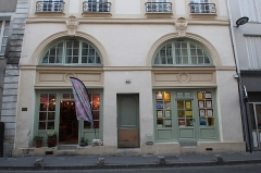 Maison dite Maison des Masques ou Maison des Quatre-Saisons - English:   Maison des Masques (house of the masks) in Saint-Denis, France