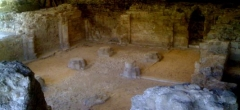 Ancienne abbaye Notre-Dame d'Argenteuil - English: Ruins of Notre Dame Abbey in Argenteuil, XIth and XIIth Century: the crypt
