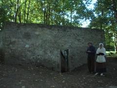 Réseau d'adduction d'eau de l'abbaye de Royaumont, dénommé Fontaine aux Moines -  entree de la fontaine aux moines viarmes france