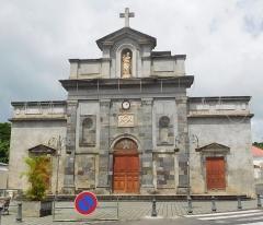 Eglise Notre-Dame du Mont-Carmel - Français:   Église Notre-Dame-du-Mont-Carmel de Basse-Terre en Guadeloupe