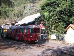 Gare de La Grande Chaloupe - English:   Billard A150D8 Railbus from 1959, Grande Chaloupe, Réunion