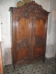 Hôtel d'Adhémar de Lantagnac - English: Ancient cupboard in the hôtel d'Adhémar de Lantagnac in Menton (Alpes-Maritimes, France).