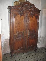 Hôtel d'Adhémar de Lantagnac - English: Ancient cupboard in the hôtel d'Adhémar de Lantagnac in Menton (Alpes-Maritimes, France).