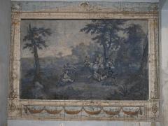 Hôtel d'Adhémar de Lantagnac - English: Painting on the wall of the hôtel d'Adhémar de Lantagnac in Menton (Alpes-Maritimes, France).
